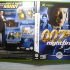 Jocuri Xbox, Actiune, 12+, Multiplayer - Joc XBox classic - James Bond 007 Nightfire - (GameLand - sute de jocuri)