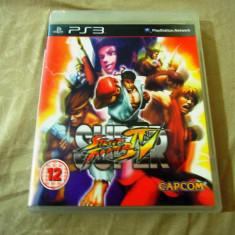 Joc Super Street Fighter IV PS3, original, alte sute de jocuri! - Jocuri PS3 Capcom, Sporturi, 12+, Multiplayer