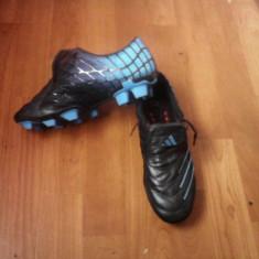 Ghete de fotbal adidas F50+ trx fg - Ghete fotbal Adidas, Marime: 40 2/3, Culoare: Rosu, Barbati, Iarba: 1