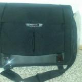 Geanta laptop samsonite PRO DLX3, Geanta de umar, Panza, Negru