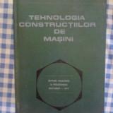 Carte tehnica - I Gherman Draghici - Tehnologia constructiilor de masini