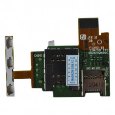 Banda Flex Slot Sim SI Cititor Card Sony Xperia J ST26 Originala