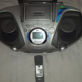 LG Radio Casetofon MP3 Portabil - Combina audio LG, Mini-sistem, 0-40 W