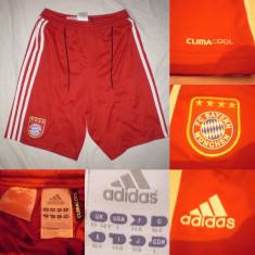 Bermude barbati - Pantaloni scurti Sort BAYERN MUNCHEN Adidas ClimaCool fotbal fani suporter
