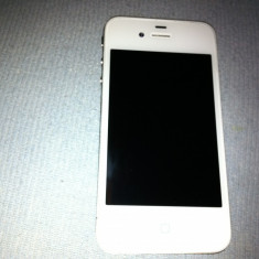 iPhone 4 Apple, Alb, 32GB, Neblocat