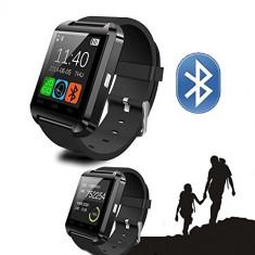 Ceas Smartwatch U8 pentru Android si iOS compatibil Samsung, HTC, LG