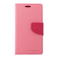 Husa Telefon Atlas, Roz, Textil, Toc - Toc My-Fancy Samsung Galaxy S4 I9500 Roz