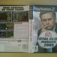 Jocuri PS2, Strategie, 3+, Single player - Total Club Manager 2005 - EA Sports - JOC PS2 Playstation ( GameLand )