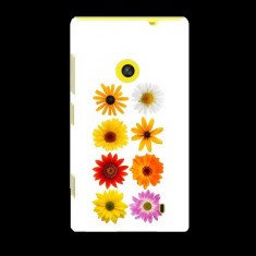 Husa Nokia Lumia 520 Slim Model Flowers