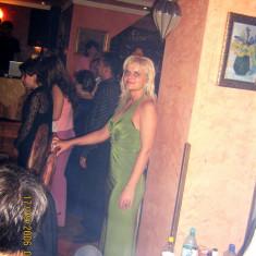Rochie de seara, Maxi, Fara maneca, Poliester - Rochie verde de seara marimea 40 EU 38 UK12
