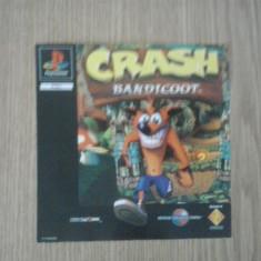 Coperta - Crash Bandicoot - Playstation PS1 ( GameLand ), Alte accesorii