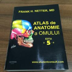 URGENT! Atlas de Anatomie a Omului F.H. Netter editia a 5 - a Nou
