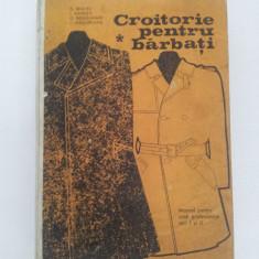 Carte design vestimentar - CROITORIE PENTRU BĂRBAŢI, C. SEGHEŞ, MANUAL PENTRU ŞCOLI PROFESIONALE, VOL. I