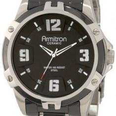 Armitron Men's 204718BKBK Black Ceramic   100% original, import SUA, 10 zile lucratoare a12107 - Ceas barbatesc Armitron, Quartz