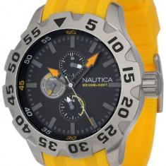Nautica Men's N15566G BFD 100   100% original, import SUA, 10 zile lucratoare a12107 - Ceas barbatesc Nautica, Quartz