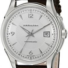 Hamilton Men's H32515555 Jazzmaster Silver   100% original, import SUA, 10 zile lucratoare a32207 - Ceas barbatesc Hamilton, Mecanic-Automatic