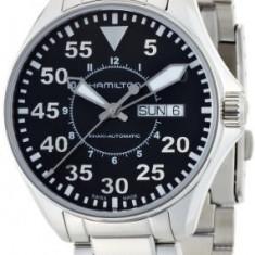 Hamilton Men's H64425135 Khaki Night   100% original, import SUA, 10 zile lucratoare a32207 - Ceas barbatesc Hamilton, Mecanic-Automatic