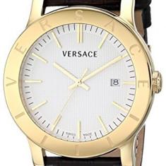 Versace Men's VQB030000 Acron Gold-Plated | 100% original, import SUA, 10 zile lucratoare a32207 - Ceas barbatesc