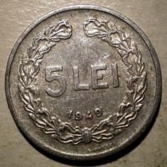 Monede Romania, An: 1949 - B.394 ROMANIA RPR 5 LEI 1949