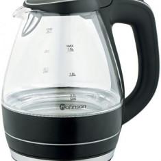 Fierbator Rohnson din sticla termorezistenta R770, putere 2000W, 1.5 litri