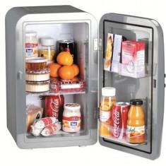 Electrocasnice - Trisa mini frigider portabil Frescolino 1, 17 litri, argintiu