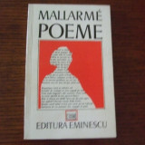 Mallarme - Poeme - Carte poezie