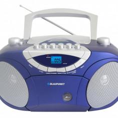 Combina audio - Blaupunkt microsistem audio Boombox BB15BL, radio AM-FM, caseta, CD/MP3/USB/AUX
