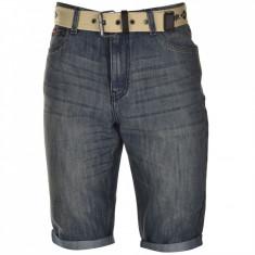 Pantaloni scurti blug Lee Cooper - Bermude barbati Lee Cooper, Marime: M, Culoare: Bleumarin