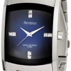 Armitron Men's 204507DBSV Stainless Steel   100% original, import SUA, 10 zile lucratoare a42707 - Ceas barbatesc Armitron, Quartz