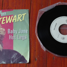 Disc vinil ( vinyl, pick-up ) - Rod Stewart - Baby Jane / Hot Legs ! - Muzica Rock