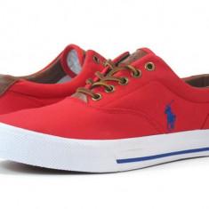 Pantofi barbati Polo By Ralph Lauren - Ralph Lauren Vaughn rosii 42 43