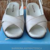 Sandale dama din piele naturala, noi, nr37, pret convenabil