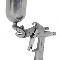 089910-Pistol pneumatic de vopsit cupa metalica sus duza 0.5 mm Raider - Pistol de vopsit