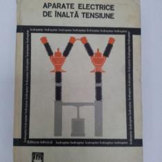 Carti Energetica - APARATE ELECTRICE DE ÎNALTĂ TENSIUNE, INDREPTAR 1978