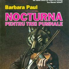 Barbara Paul - Nocturna pentru trei pumnale (4) - 29679 - Roman
