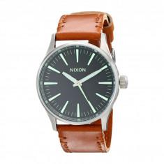 Ceas Nixon The Sentry 38 Leather | 100% original, import SUA, 10 zile lucratoare - Ceas barbatesc Timex, Quartz