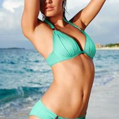 Vand Costum de baie Victoria's Secret Victoria Secret din 2 piese, model si calitate deosebita., Marime: M, Culoare: Alb, Aqua, Fuchsia, Doua piese