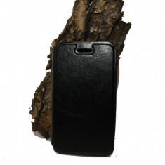 Husa Vodafone Smart 4 Fun vf685 piele ecologica neagra - Husa Telefon Vodafone, Negru