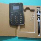 Mini Telefon MOOC X5 Telefon mini MOOC X5 telefon 0.96 inch Ultra Thin mooc x5, Negru, Nu se aplica, Neblocat, Single SIM, Fara procesor