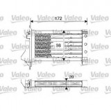 incalzitor independent autovehicul NISSAN MICRA III K12 PRODUCATOR VALEO 812249