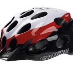 Echipament Ciclism - Casca Catlike Tako R009, M, 54-57cm, Alb/rosu/negru - 0152009MDCV