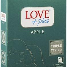 Prezervative Love Plus Apple 3 buc