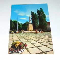 Carte Postala, Circulata, Fotografie - Satu Mare, Monumentul ostasului roman - 1970 - circulata - 2+1 gratis - RBK8748