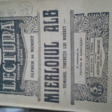Carte veche - MIERLOIUL ALB DE ALFRED DE MUSSET, ED INTERBELICA, 32PAG, COLECTIA LECTURA