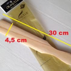 Spatula lemn, spatula pentru ceara, spatula tratamente sau impachetari