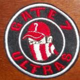 Broderie/emblema/patch/toppa ULTRAS/HOOLIGANS Gate 7 Olympiakos Pireu