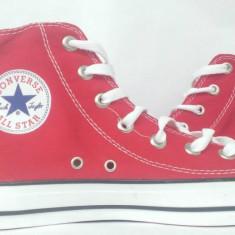 Tenesi / Bascheti Converse All Star- Rosii - Tenisi barbati Converse, Textil