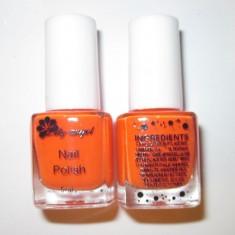 Oja speciala pt matrita / matrite ce se aplica cu stampila, culoarea portocalie