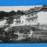 carte postala fotografie veche BRADET HOTELURILE FOTO EMANOIL SARBU DIN PITESTI . judetul arges. foarte rara (v035