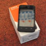 Vodafone Smart 4 Fun Negru - Ecran display defect! (folosit 2 luni) - Telefon mobil Vodafone, 4GB, Single SIM, Dual core
